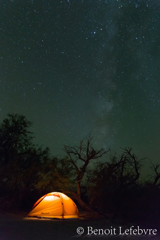 Death Valley est l'un des endroit les plus beau au monde le jour comme la nuit.