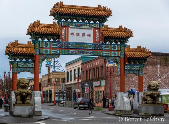 Porte de China Town