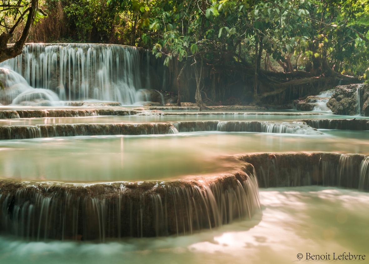 waterfallLaos