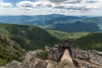Un pause au sommet